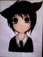 2014 Drawing - Random Anime :) by nielopena