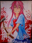 2014 Drawing - Yuno Gasai :)