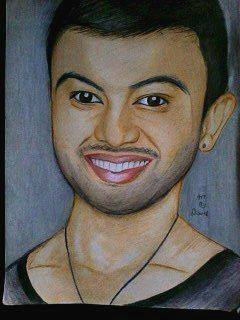 2014 Drawing - Mr. Guy Sebastian :) by nielopena