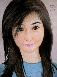 2014 Drawing - Ms. julie anne nicole Chua :) by nielopena