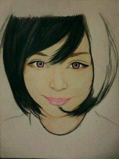 2014 Drawing - wip no 2 of Ms. Katya Lischina :) by nielopena
