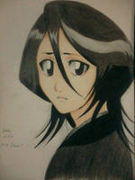 2014 Drawing - Rukia by nielopena