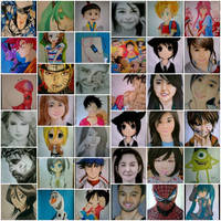 2014 Drawing - My year end collage :) by nielopena