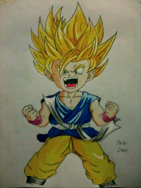 Goku GT (2015) by nielopena