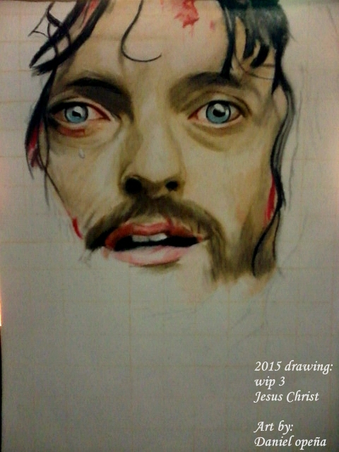 Jesus Christ (Wip 3) by nielopena