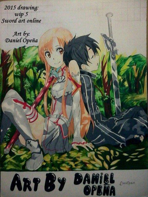 Sword Art Online (Wip 5) by nielopena