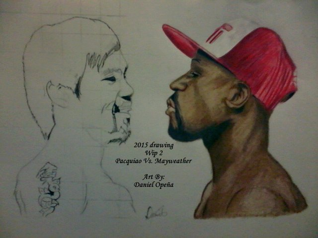 Pacquiao Vs. Mayweather (Wip 2) by nielopena