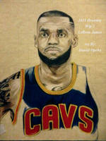 LeBron James (Wip 2) by nielopena