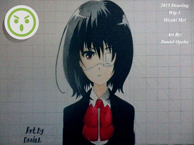 Misaki Mei (Another) (Wip 1) by nielopena