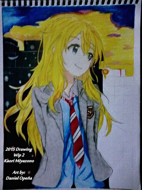 Kaori Miyazono (Wip 2) by nielopena