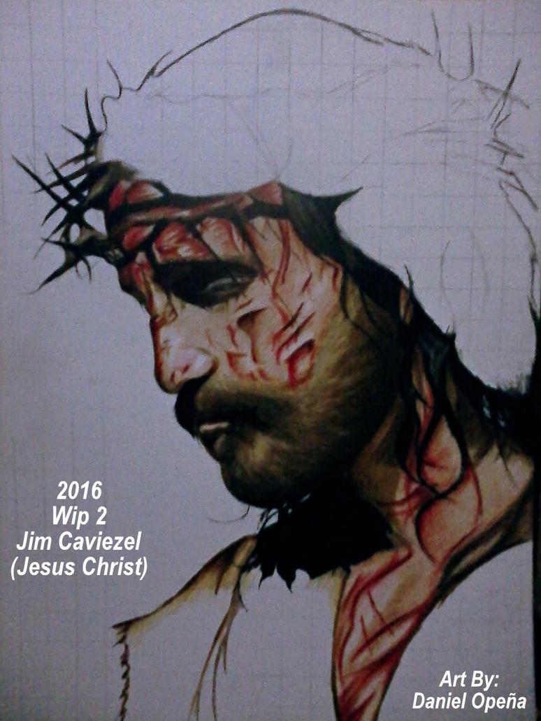 Jim Caviezel (Jesus Christ) (Wip 2) by nielopena