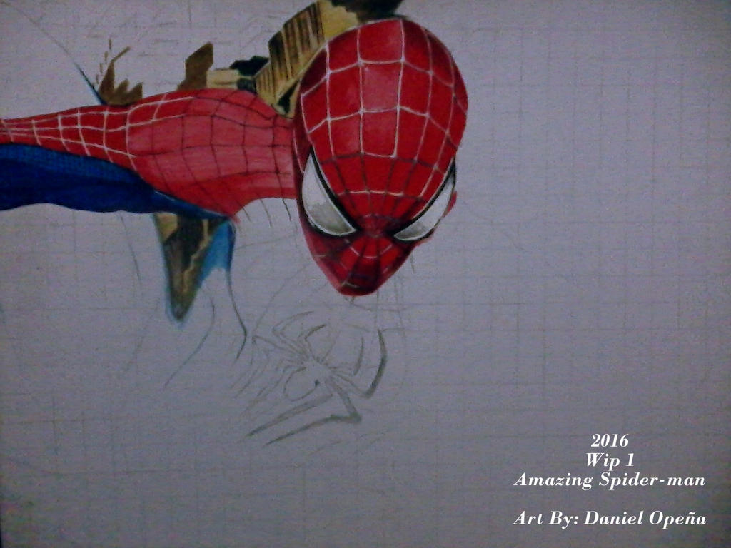 The Amazing Spider-man (Wip 1) by nielopena