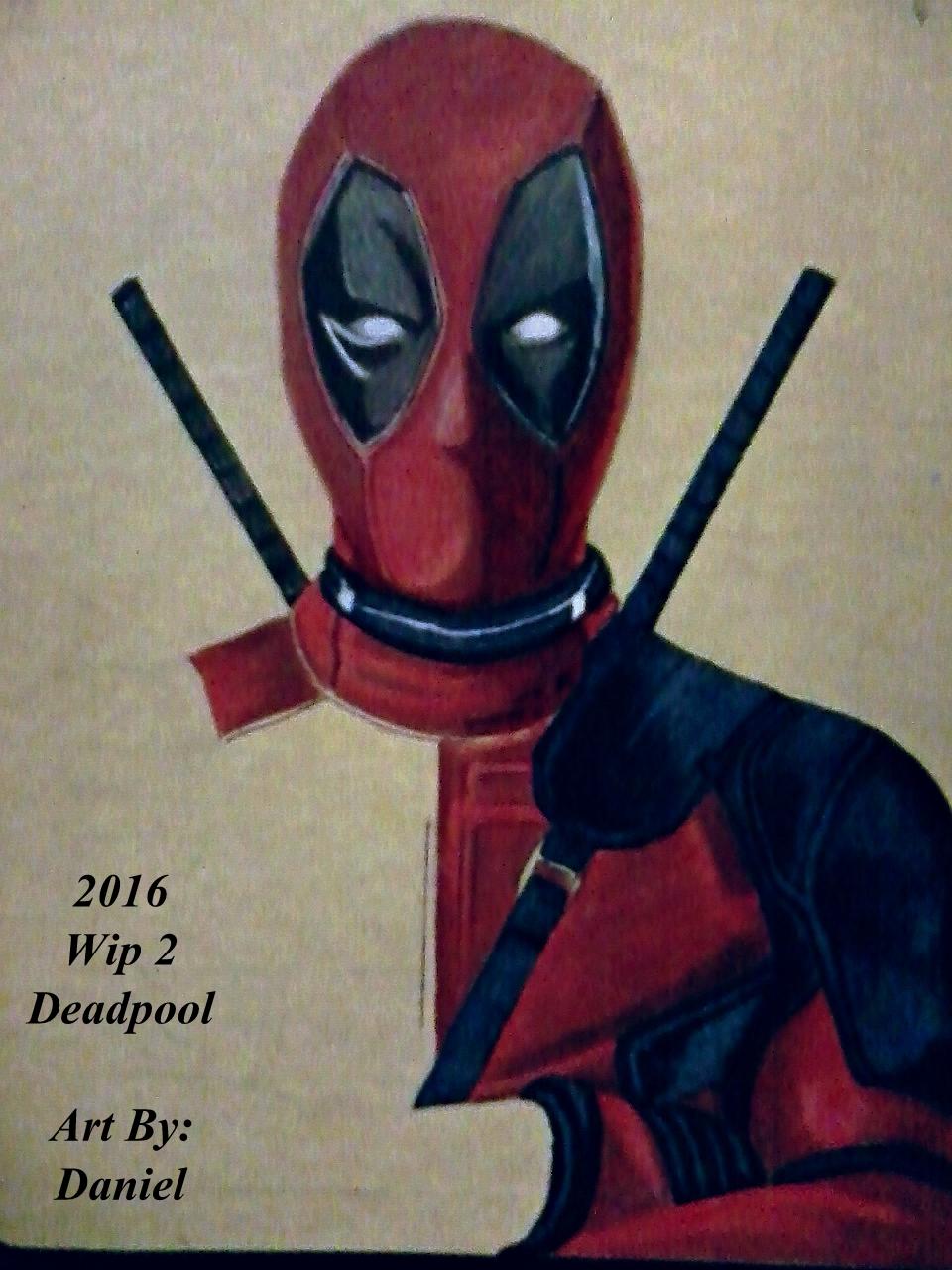 Deadpool (Wip 2) by nielopena