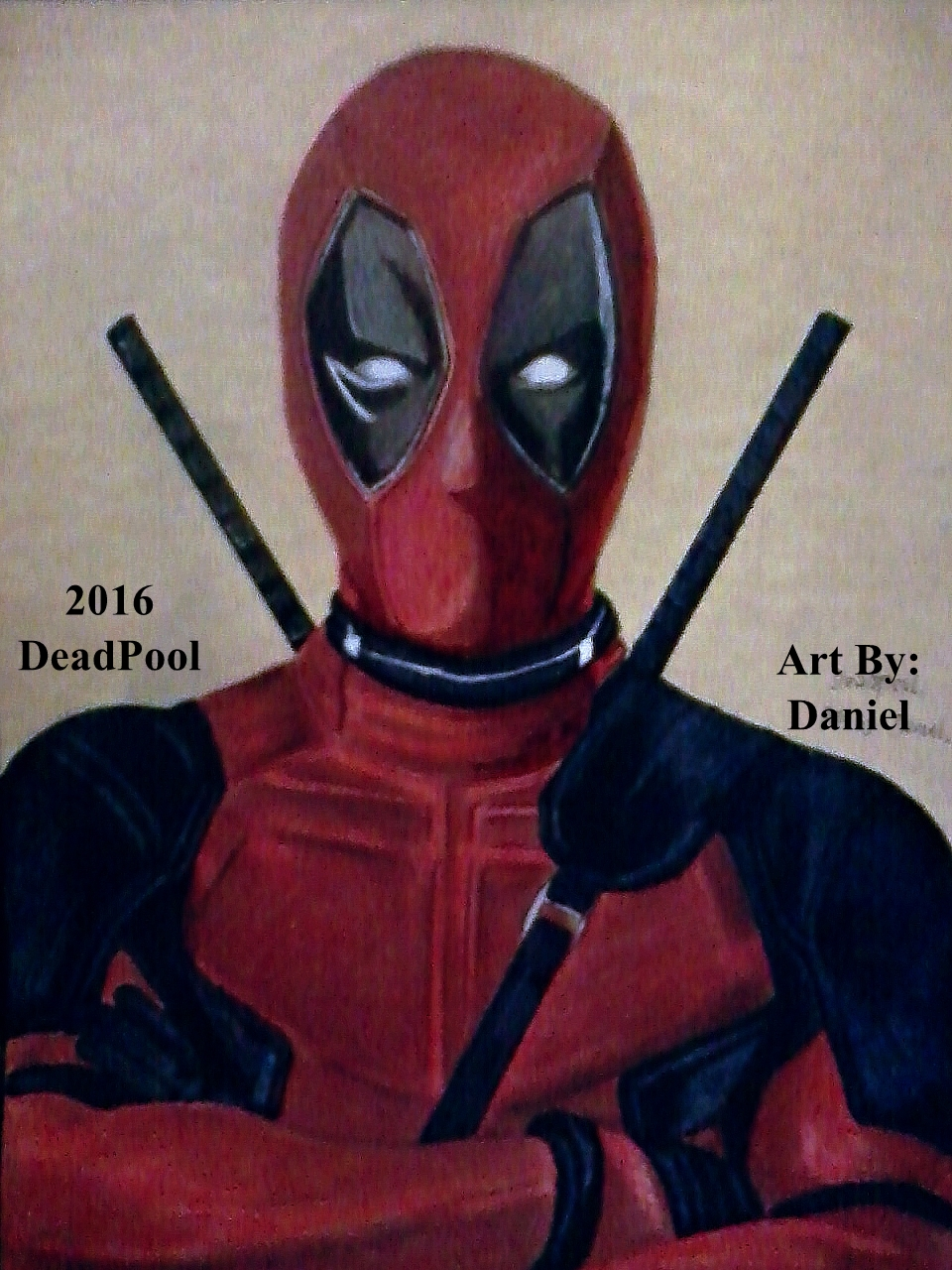 Deadpool (2016) by nielopena