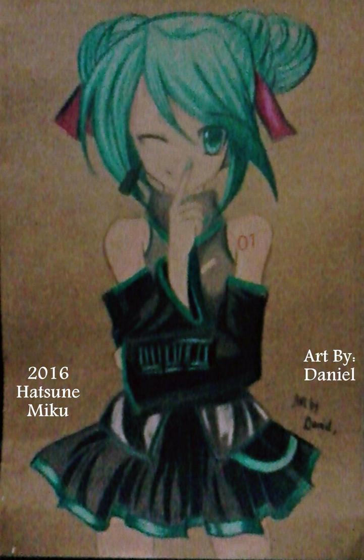 Hatsune Miku (2016) by nielopena