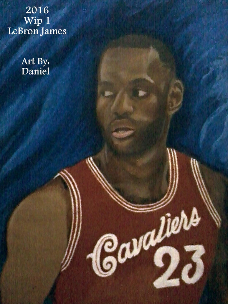LeBron James (Wip 1) by nielopena