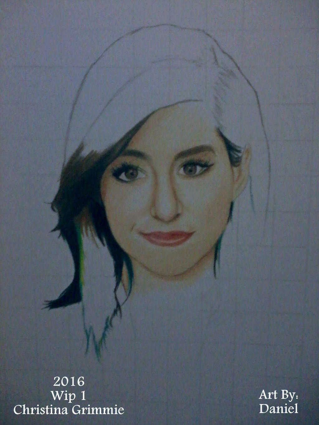 Christina Grimmie (Wip 1) by nielopena