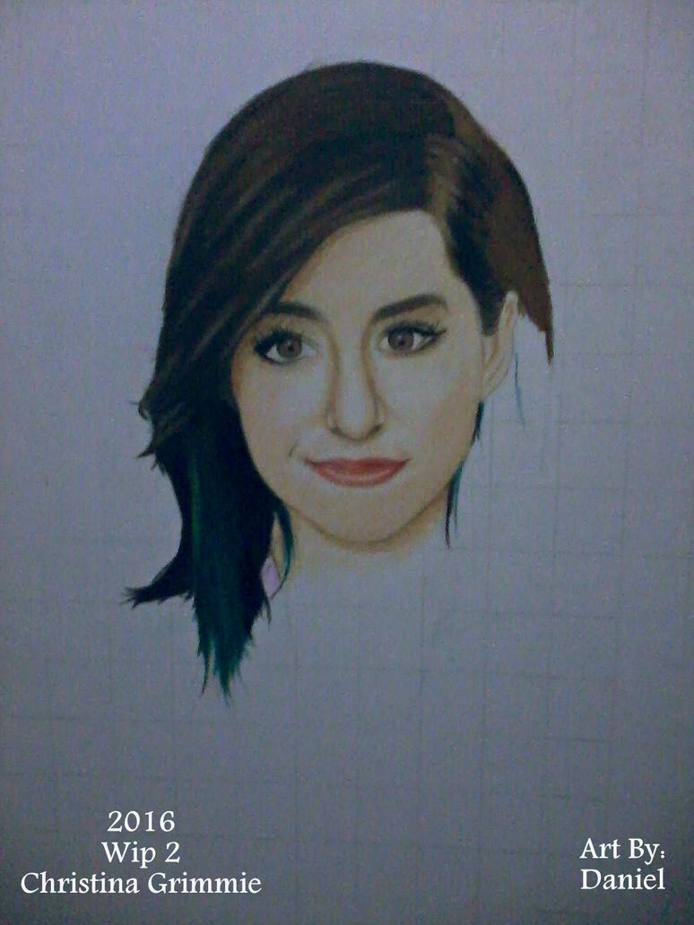Christina Grimmie (Wip 2) by nielopena