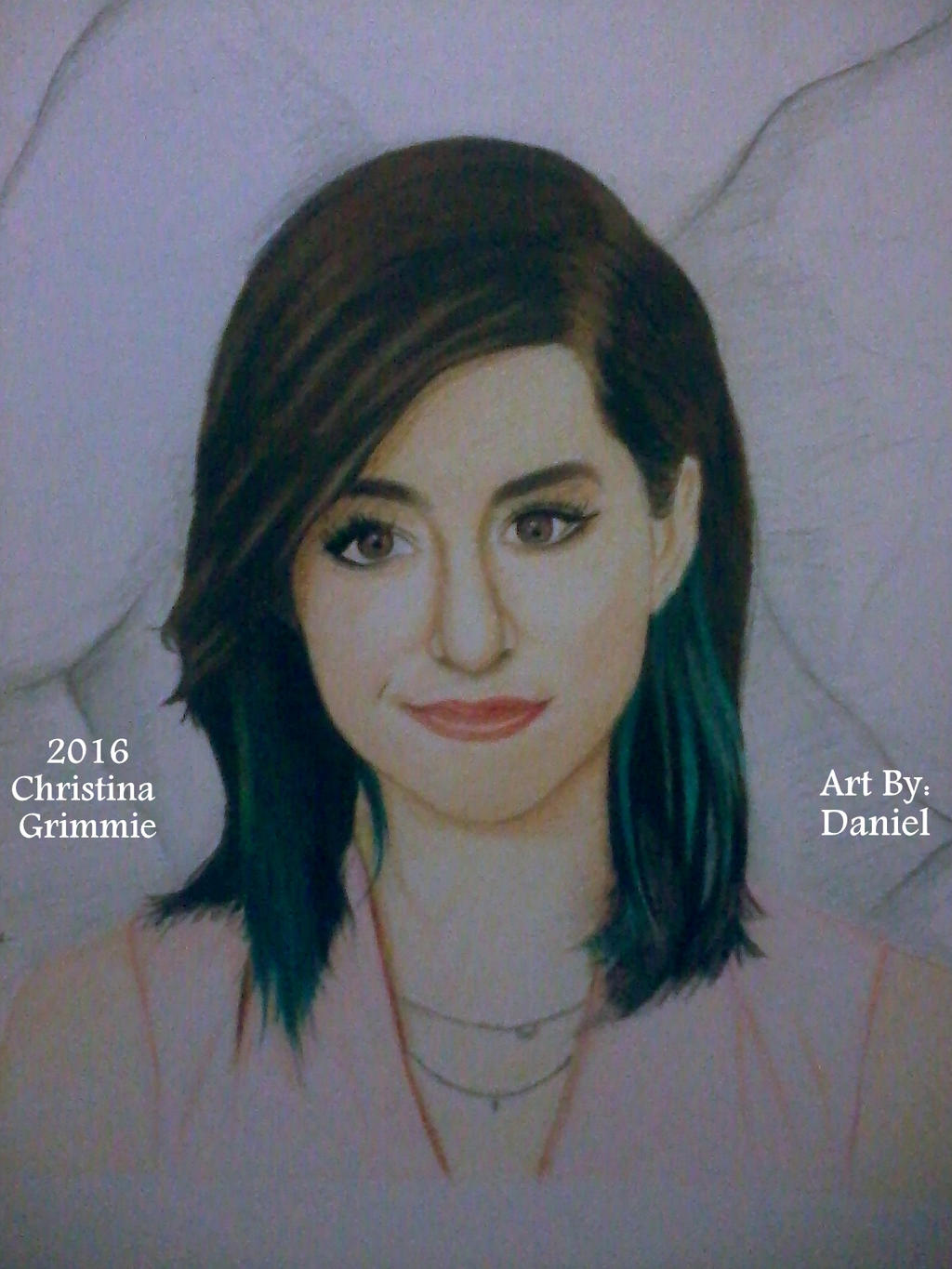 Christina Grimmie (2016) by nielopena