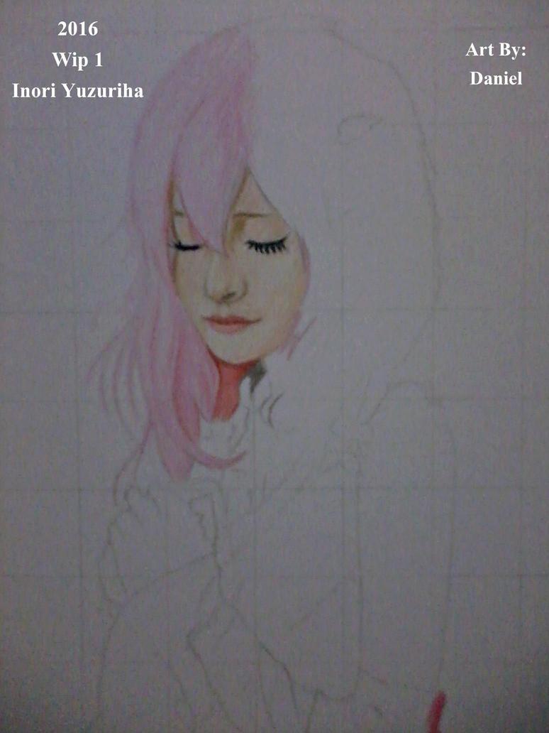 Inori Yuzuriha (Wip 1) by nielopena