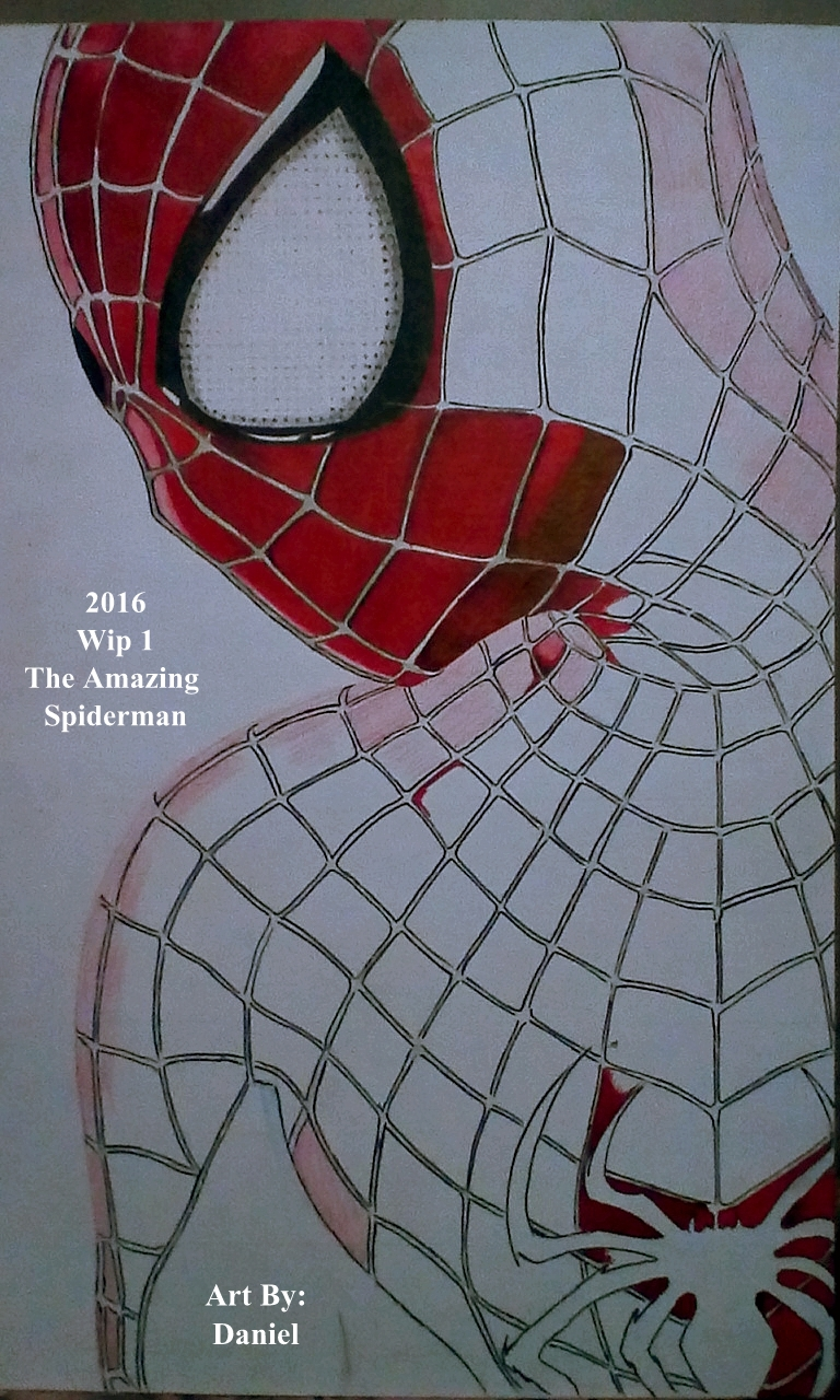 The Amazing Spiderman (Wip 1) by nielopena