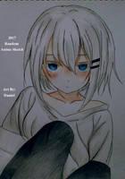 Random Anime Sketch by nielopena