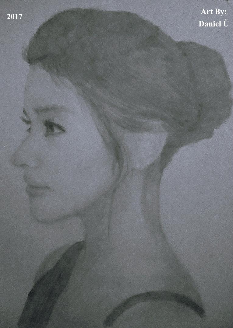 Liza Soberano 2b Pencil Sketch (2017) by nielopena