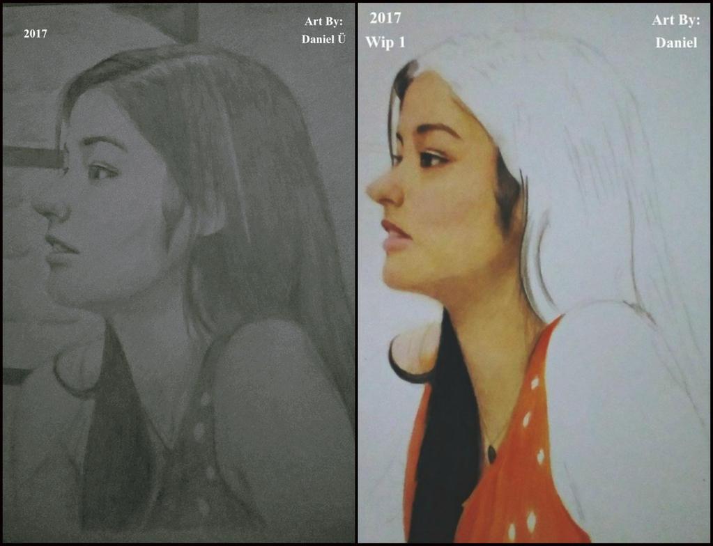 Isang Pencil Sketch at Isang Wip :D by nielopena