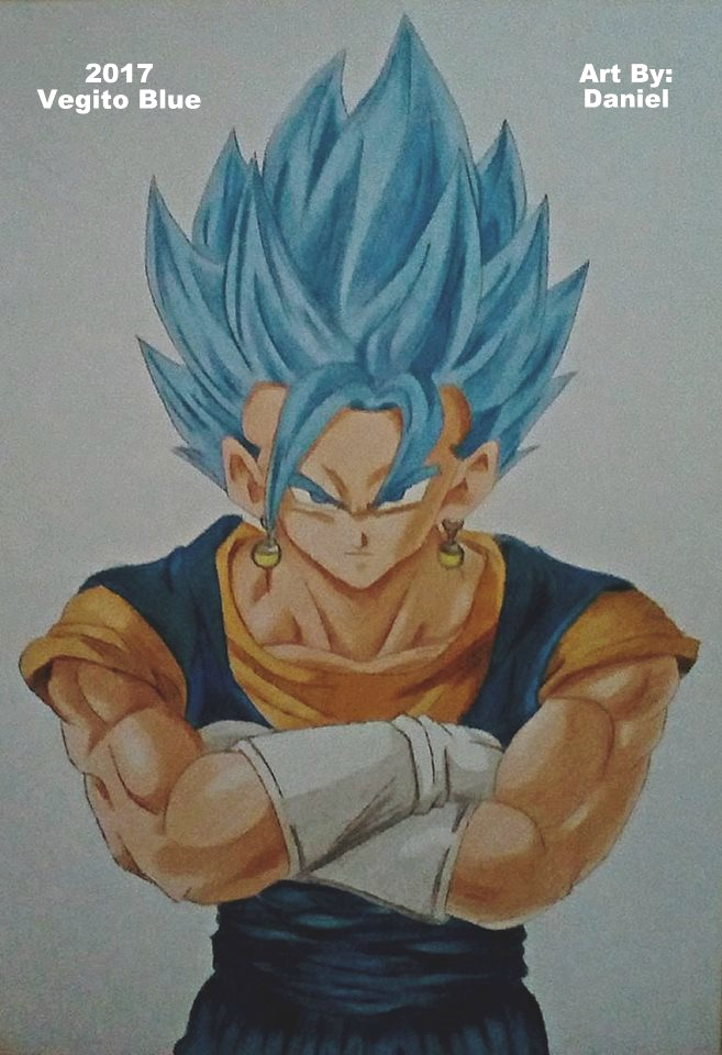 Vegito Blue (2017) by nielopena