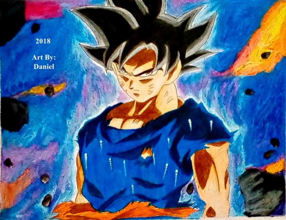 Goku Ultra Instinct Omen ~ 2018 by nielopena