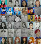My 2018 Artworks!