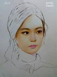 Jennie Kim (Wip 1) by nielopena