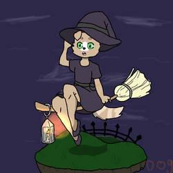Iyke is a witch by doglady88722