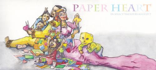 Paper Heart Family