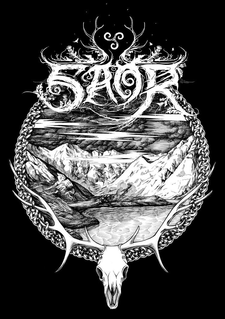 Saor back patch by Irio