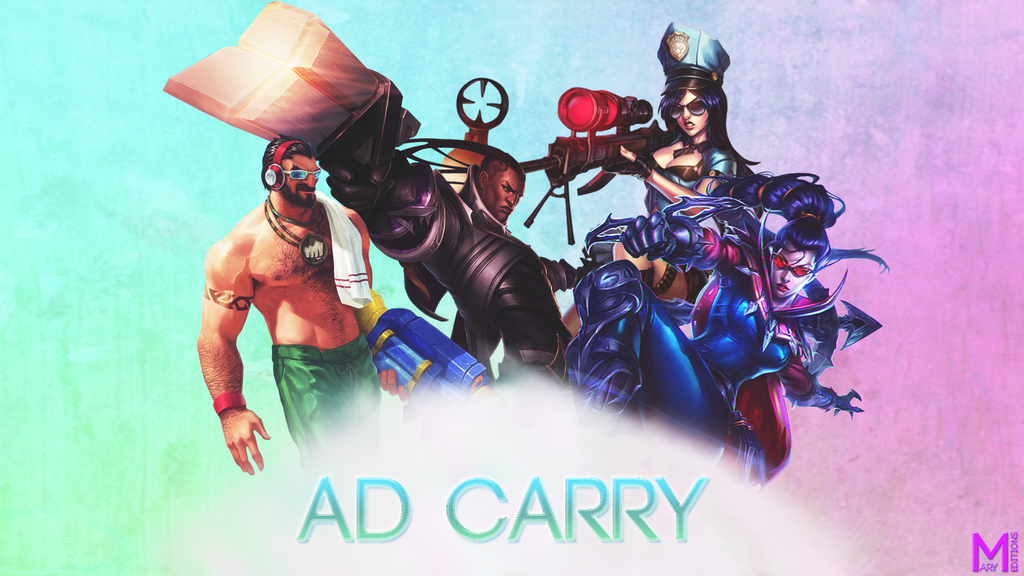 AD Carry League of Legends Wallpaper by marybunny8 on ...