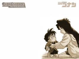 Wallpaper - Detective Conan by siraisho