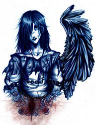 -Goodbye Blood and Rose- by hellangel
