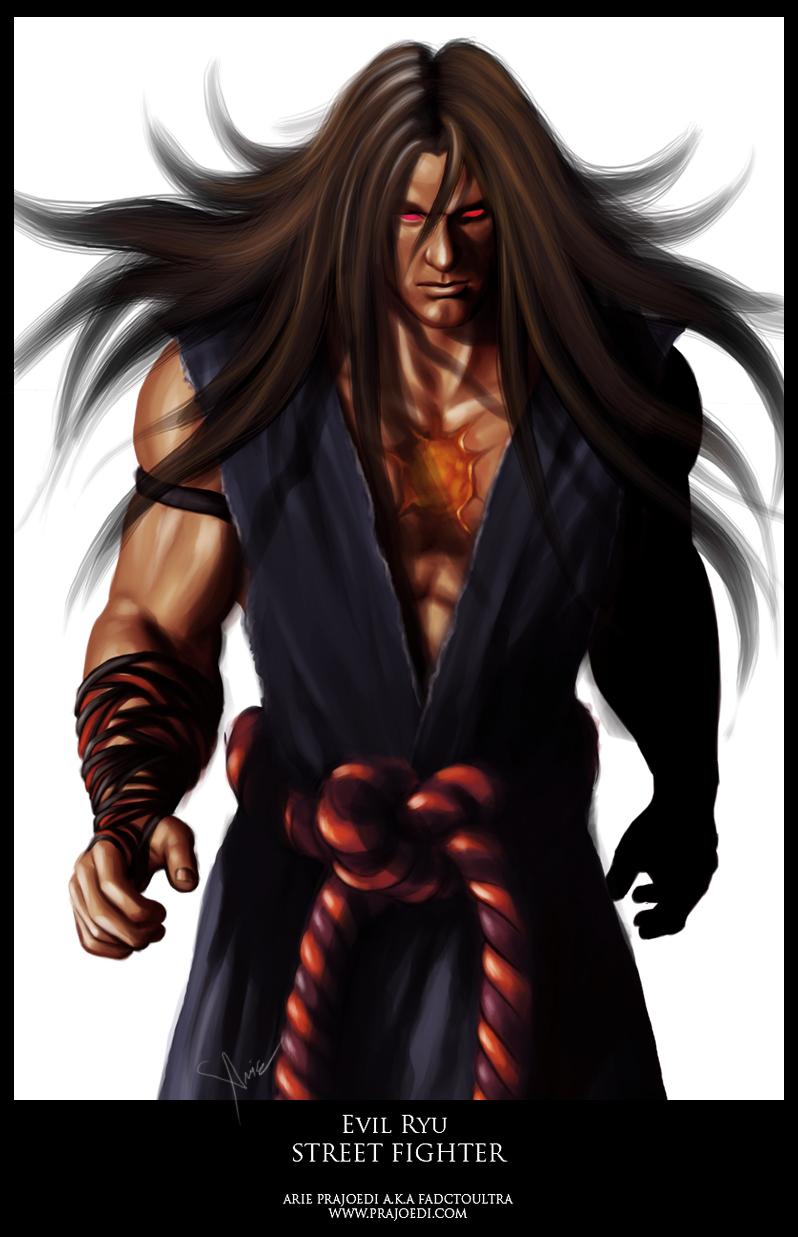 Evil Ryu Alternate Version By Fadctoultra On Deviantart