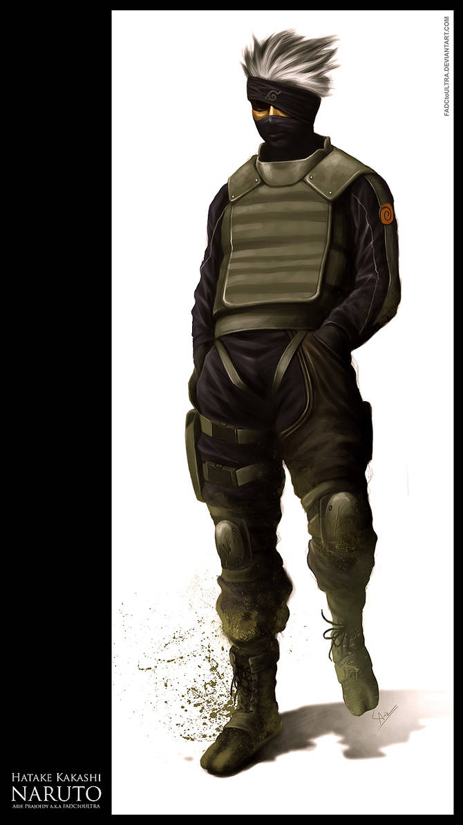 Kakashi re-Designed by FADCtoULTRA