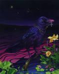 Oily Crow II