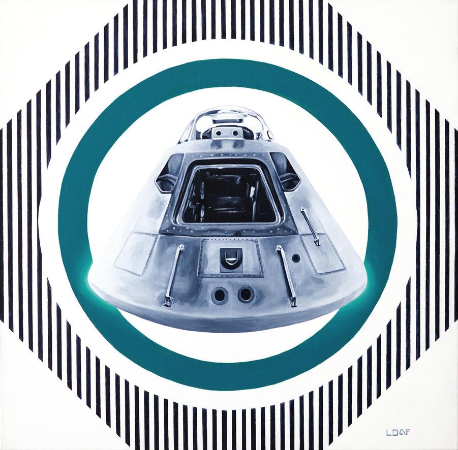 Space Capsule Study by LoafNinja