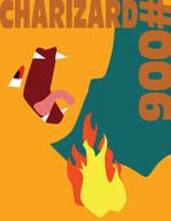 Charizard Minimon Poster by Dwaylin