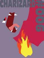 Charizard Minimon Poster Shiny by Dwaylin