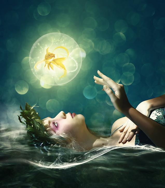 The Healing Waters by Aeirmid