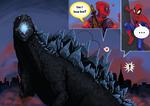 Godzilla, Deadpool pet?