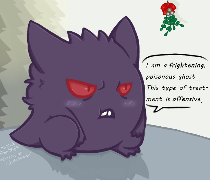 Cute Gengar by SmpyCookie on DeviantArt