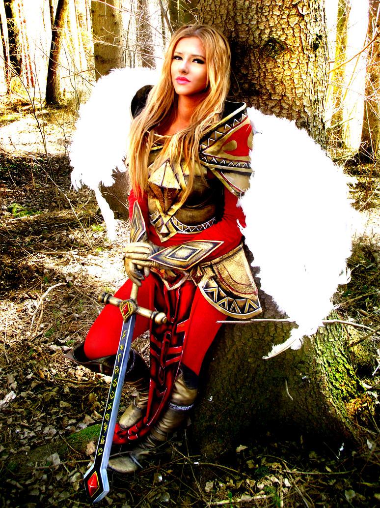 Unmasked Kayle cosplay by Felanka on DeviantArt