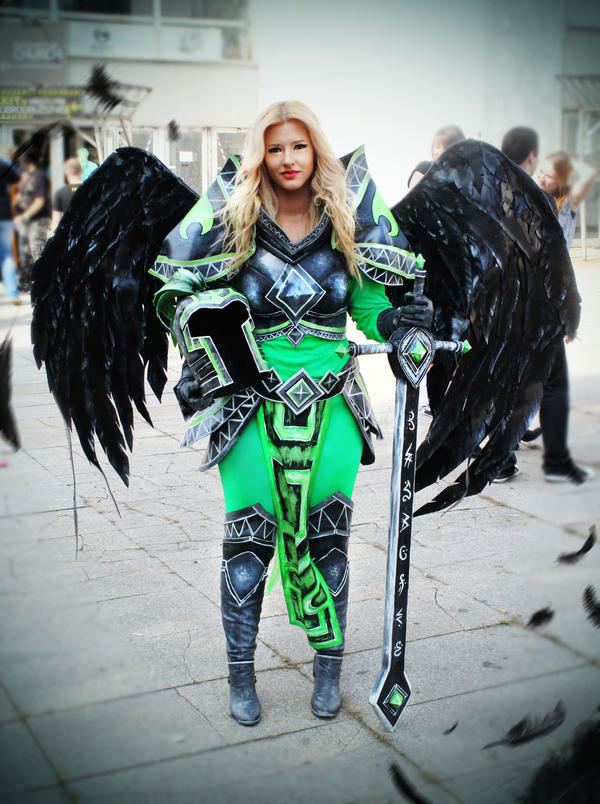 Viridian Kayle cosplay by Felanka on DeviantArt