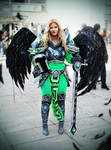 Viridian Kayle cosplay